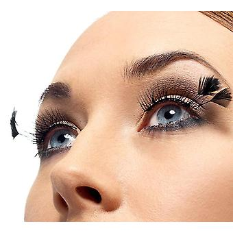 Eyelashes artificial eyelashes black with spring small