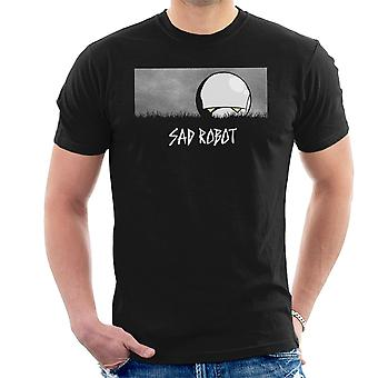 Sad Robot Marvin Hitchhikers Guide To The Galaxy Men's T-Shirt