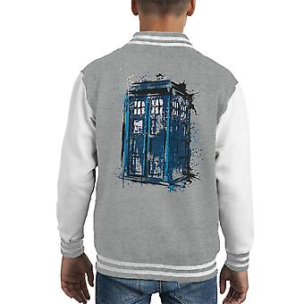 Doctor Who Time And Space Kid's Varsity Jacket