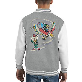 Leyenda de Zelda A mejor forma de volar Varsity Jacket del cabrito