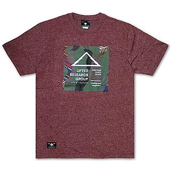 LRG Outdoor Div 47 T-shirt Deep Maroon Heather
