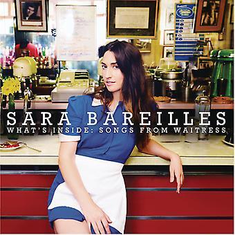 Sara Bareilles - hvad der er indeni: sange fra servitrice [CD] USA import