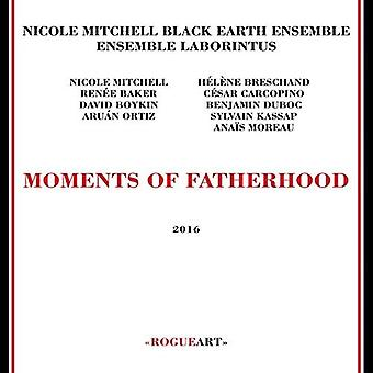 Nicole Mitchell's Black Earth Ensemble - øjeblikke af faderskab [CD] USA import