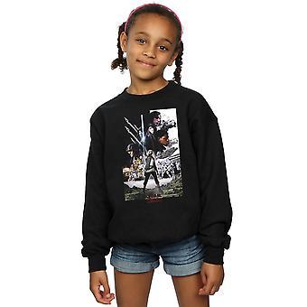 Star Wars Girls The Last Jedi Character Poster Sweatshirt