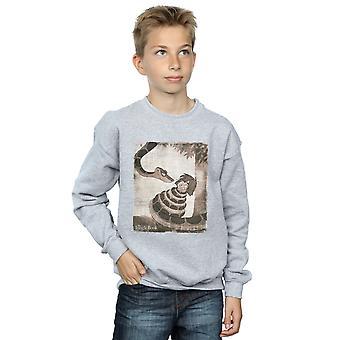 Disney jongens Jungle Boek Retro Poster Sweatshirt