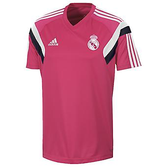 2014-2015 Real Madrid Adidas Training Shirt (rosa)