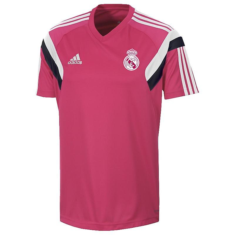2014-2015 Real Madrid Adidas Training Shirt (Pink)