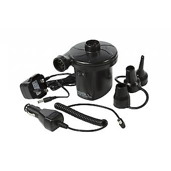 Regatta Rechargeable AC/DC Electric Pump with UK Plug - Black