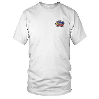 USAF Airforce - Clark Air Base P.I. Operation klassiske løse broderede Patch - Herre T-shirt