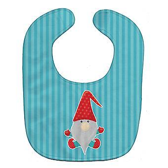 Carolines Schätze BB8784BIB Weihnachten Gnome Baby Lätzchen