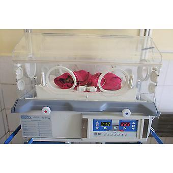 Newborn Afghan baby in incubator Poster Print by VWPicsStocktrek Images