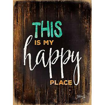 Happy Place Poster Print by Marla Rae (12 x 16)