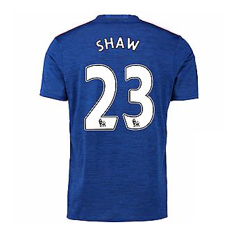 2016-17 Manchester United Away Shirt (Shaw 23) - Kids
