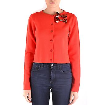 Boutique Moschino ladies MCBI214045O red Wool Cardigan