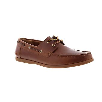 Clarks Morven Sail - Tan Leather (Brown) Mens Shoes