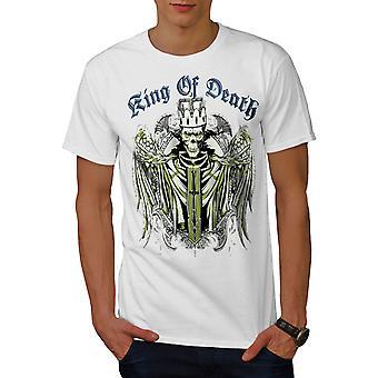 König der Tod Teufel Männer WhiteT-t-Shirt   Wellcoda