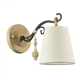 Maytoni Lighting Cipresso House Collection Sconce, Oak Antique