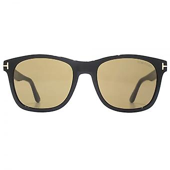 Tom Ford Eric 02 Sunglasses In Shiny Black