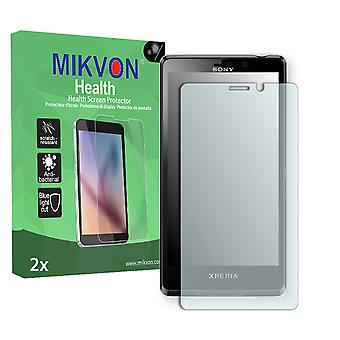 Sony Xperia LT30p Screen Protector - Mikvon Health (Retail Package with accessories)