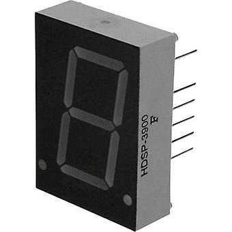 Seven-segment display Red 20.32 mm 2.6 V No. of digits: 1
