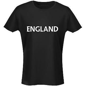 Engeland Football Rugby Womens T-Shirt 8 kleuren (8-20) door swagwear
