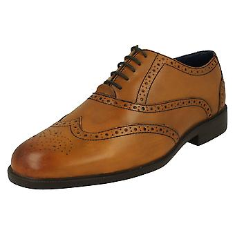 Mens Padders Lace Up Brogue Shoes Oxford