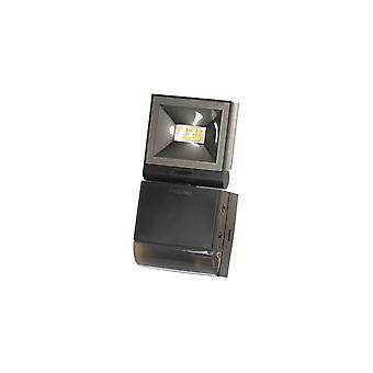 Timeguard Compact LED Energy Saving Floodlight, 10W LED With Motion Sensor, Black