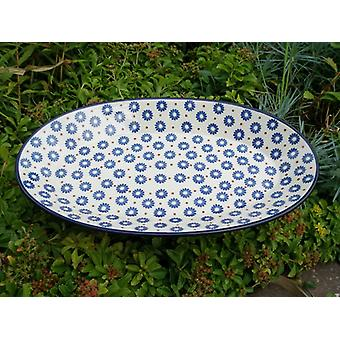 Plate, oval, 45.5 x 27 cm, tradition 39, BSN s-510