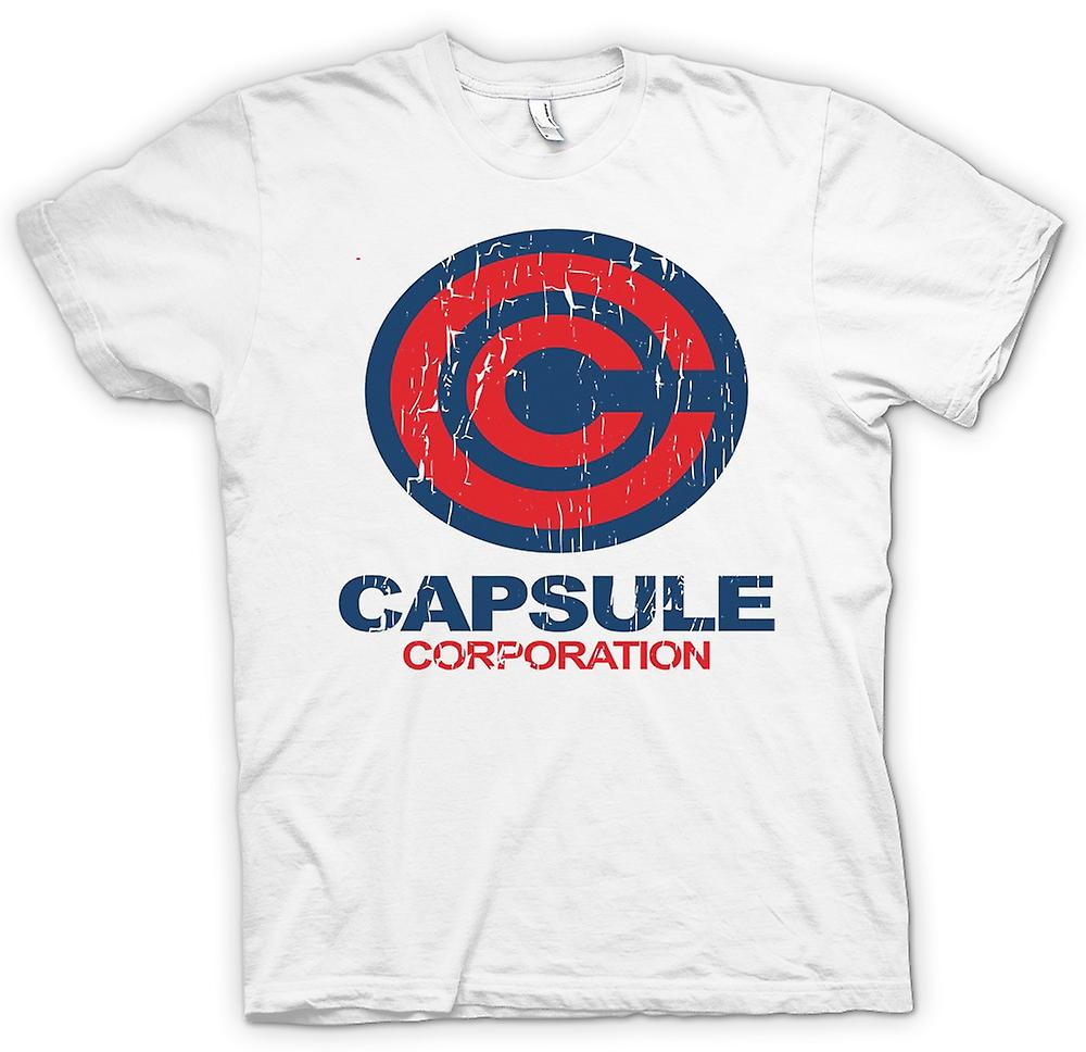 Womens T-shirt - kapsel Corporation - Dragonball