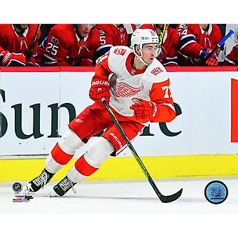 Dylan Larkin 2017-18 Action Photo Print