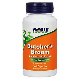 Now Foods Butcher'S Broom 100 Capsules (Herbalist's , Supplements)