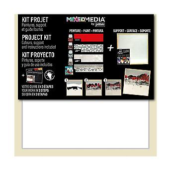 Pebeo Mixed Media Project Kit with Art Panel
