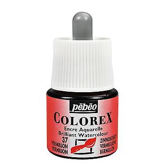 Pebeo Colorex Ink 45ml (37 Vermilion)