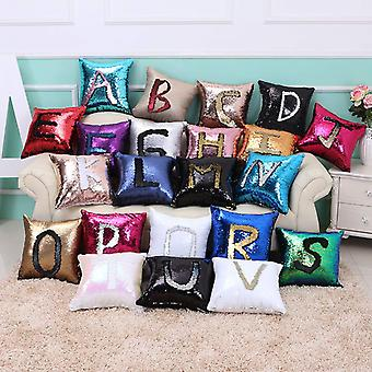 Cushion cover with reversible sequins, draw the pattern on the pillow!