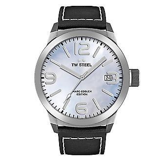 TW stål herre se Marc Coblen Edition TWMC23 wrist watch læder band