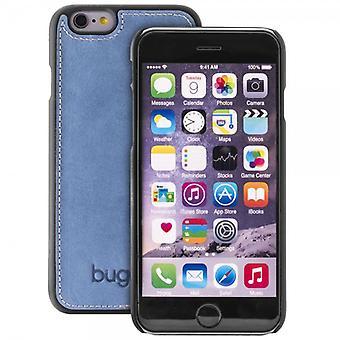 Bugatti ClipOnCover Funda cuero iPhone caso Modena 6 6s dril de algodón