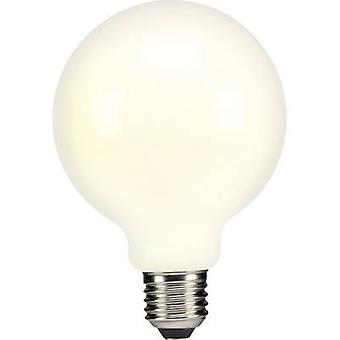 Sygonix LED E27 Globe 6 W = 60 W Warm white (Ø x L) 95 mm x 134 mm EEC: A++ Filament 1 pc(s)