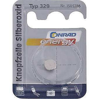 Button cell SR731 Silver oxide Conrad energy SR731