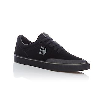Etnies Black-Dark Grey Marana Vulc Shoe