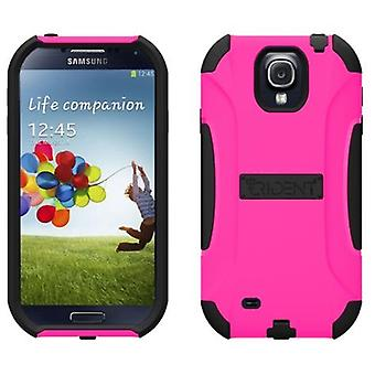 Trident - Aegis Case for Samsung Galaxy S4 - Black/Pink