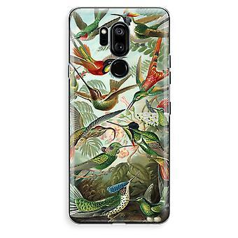 LG G7 Thinq Transparent Case (Soft) - Haeckel Trochilidae