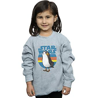 Star Wars Girls The Last Jedi Porg Sweatshirt