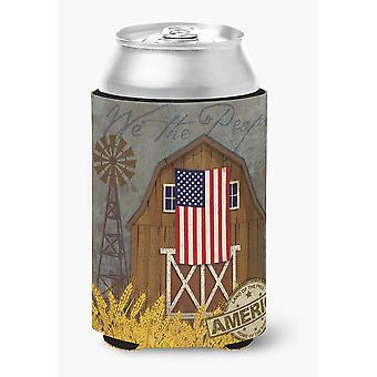 Granero patriótico tierra de América puede o botella Hugger