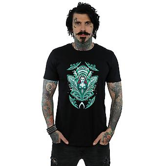 DC Comics мужчин Aquaman Mera гребень футболку