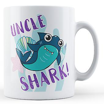 Farbror haj! -Tryckt mugg