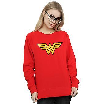 DC Comics Women's Wonder Woman Logo Sweatshirt
