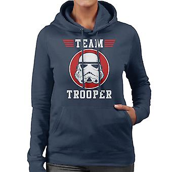 Originele Stormtrooper Team Trooper vrouwen de Hooded Sweatshirt