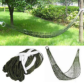 Trixes Survival Camping Hammock for Army Travel Mini Nylon Survival Relax Sleeping Garden