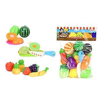Groente en fruit snijset 2 ass