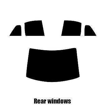 Pre gesneden venster tint - VW Jetta Estate - 2001 tot en met 2005 - achterzijde windows